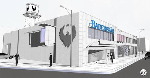 Brewery Boom Town: Baderbräu Brewery Renders Show Where You'll Be Saying Prost