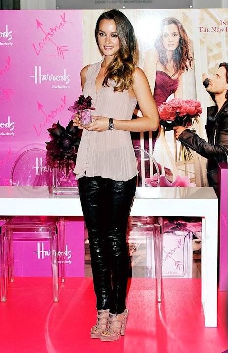 Leighton Meester Fragrance Launch