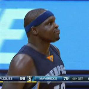 Zach Randolph's Night