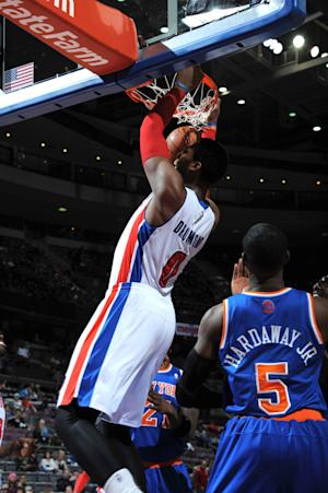 Struggling Pistons beat slumping Knicks 96-85