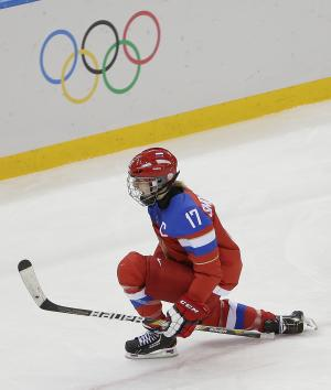 Russia beats Germany 4-1 in Olympic women's hockey