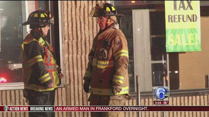 Smoke and flames damage stores in Camden County