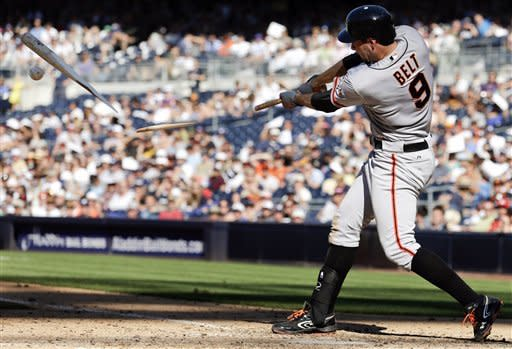 Nady, Spence homer in 9th to lift Giants, 7-5