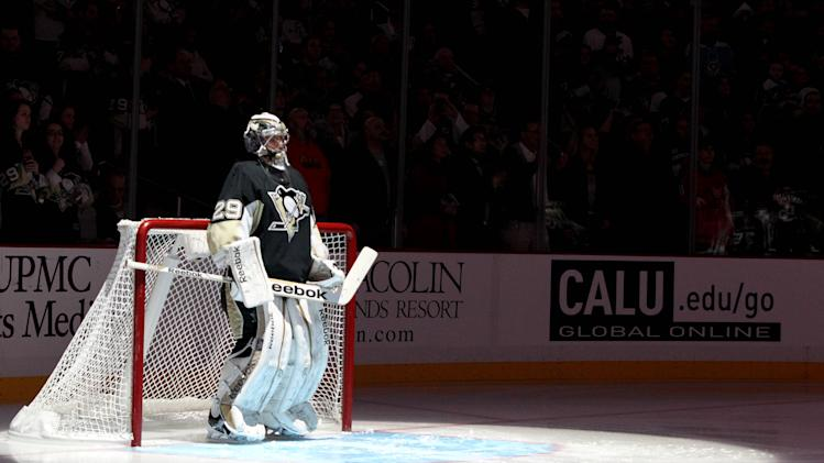 NHL: Washington Capitals at Pittsburgh Penguins