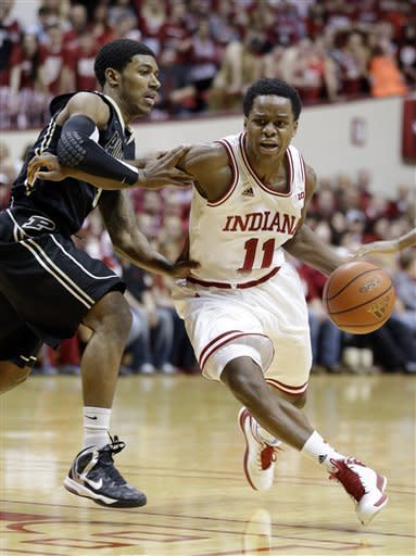 Fast start sends No. 1 Indiana past Purdue 83-55