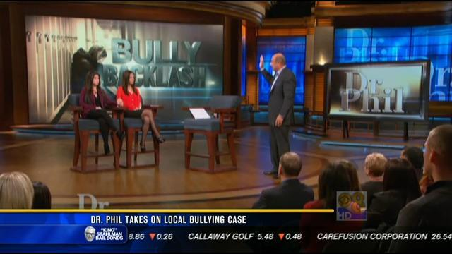 Dr. Phil takes on San Diego bullying case