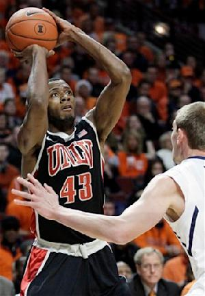 UNLV hands No. 19 Illinois its first loss, 64-48