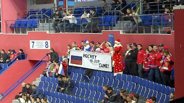 Russians claim Hockey Is Their Game (Sunaya Sapurji)