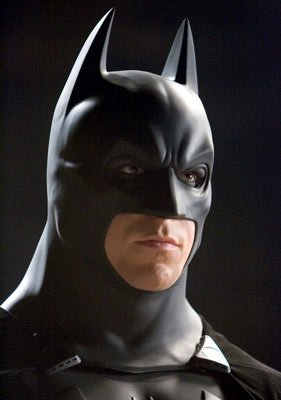 Christian Bale as Batman in Warner Bros. Pictures' Batman Begins