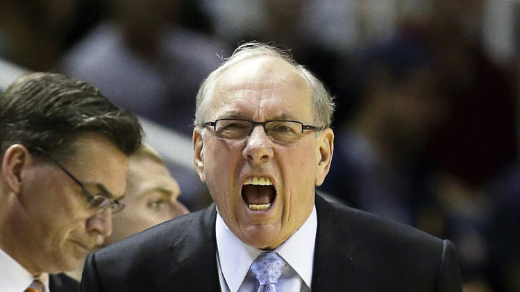 Jim Boeheim of the Syracuse Orange