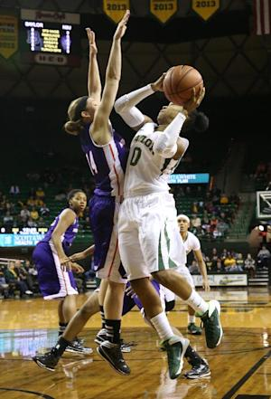 No. 9 Baylor women win 62nd straight home game