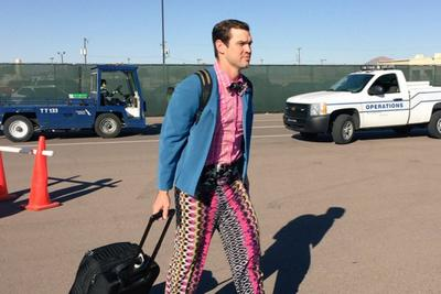 Arizona Cardinals backup Drew Stanton has the grooviest wardrobe after losing a bet