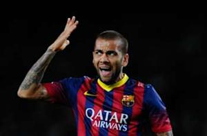 Dani Alves thanks fan who threw banana during Villarreal clash