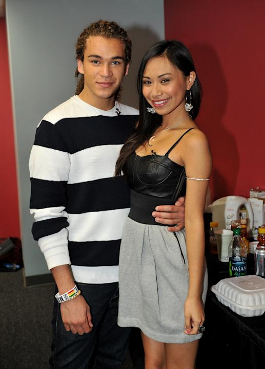 "Ah, young love! Jessica Sanchez and DeAndre Brackensick surprised their fans when they both admitted that they're ""in a relationship"" through the social networking site Twitter."