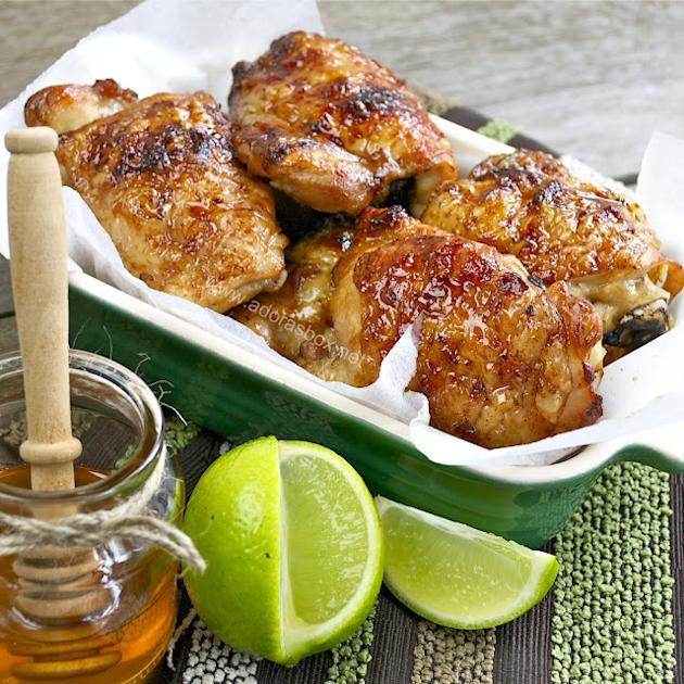 Lime, Soy, and Honey Chicken
