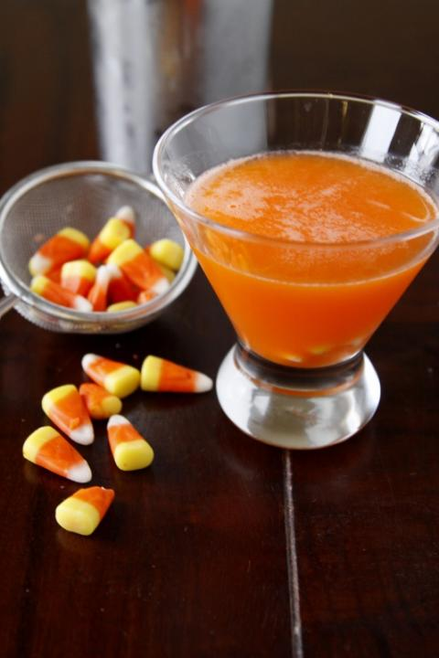 Candy Corn Cocktails