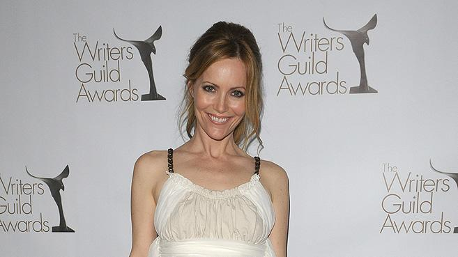 2010 WGA Awards Leslie Mann