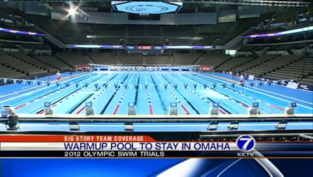 Olympic pool to stay in Omaha