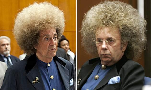 Al Pacino as Phil Spector, Phil Spector -- HBO/Getty Images