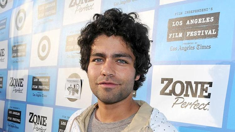 "Adrian Grenier attends the 2009 Los Angeles Film Festival ""We Live In Public"" screening and Q&A held at the Mann Festival Theatre on June 21, 2009 in Los Angeles, California."