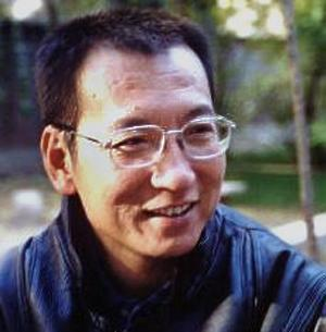 This undated image provided by Voice of America shows Chinese dissident Liu Xiaobo who won the 2010 Nobel Peace Prize Friday Oct. 8, 2010. (AP Photo/voanews.com)