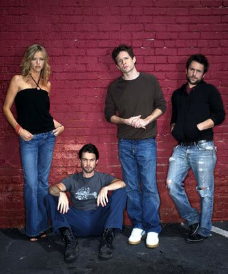 Kaitlin Olson, Rob McElhenney, Glenn Howerton and Charlie Day FX's It's Always Sunny in Philadephia