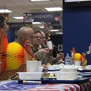 US Troops Celebrate Thanksgiving in Afghanistan