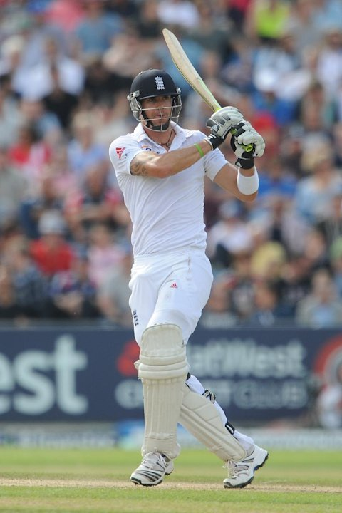 Kevin Pietersen compiled a battling half-century at Headingley