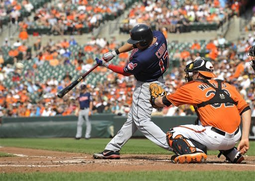 Choo leads Indians over Orioles 11-5