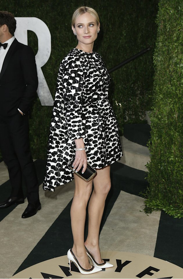 Diane Kruger at the 2013 Vanity Fair Oscars Party in West Hollywood