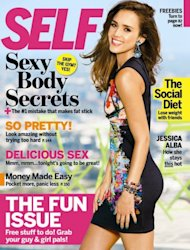 Jessica Alba on the cover of SELF (Sept. 2012) -- SELF Magazine