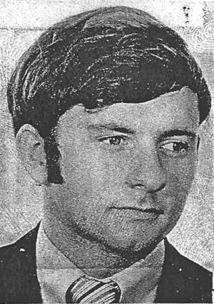 """This 1977 license picture provided by the Oklahoma Board of Dentistry shows Dr. Scott Harrington. Health officials urged thousands of patients of Harrington, an oral surgeon, to undergo hepatitis and HIV testing, saying unsanitary conditions behind his office's spiffy facade posed a threat to his clients and made him a """"menace to the public health."""" (AP Photo/Oklahoma Board of Dentistry)"""