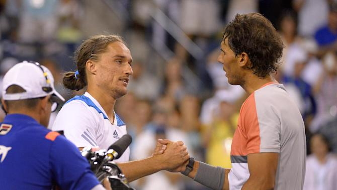 Nadal and Sharapova out at Indian Wells