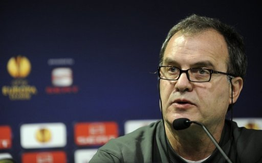 Athletic Bilbao's coach Marcelo Bielsa