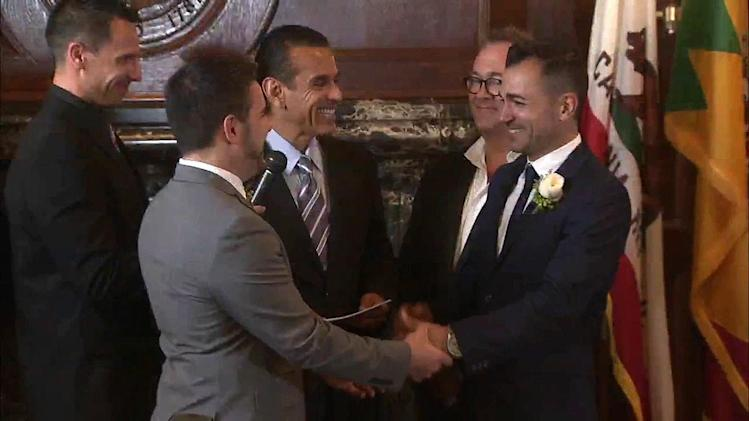 Same-sex marriages can resume in California: Court of Appeals