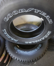 Goodyear tires: Credit AP