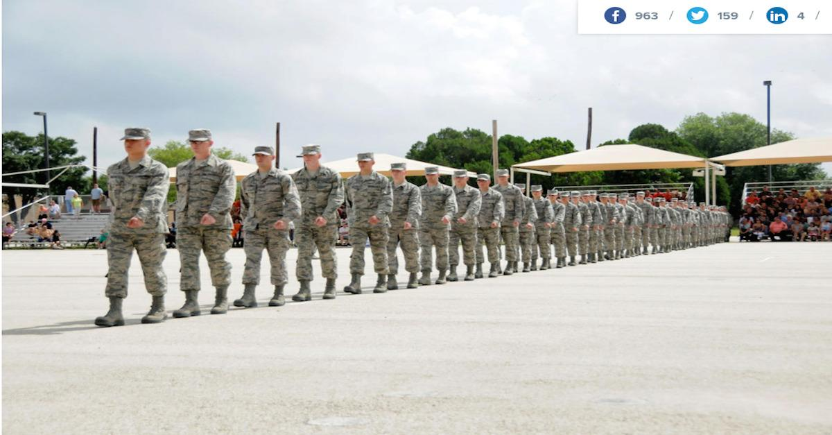 Into the wild blue yonder: US Air Force training
