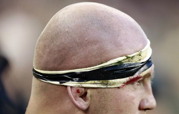 New Zealand's Ben Franks during International rugby union match against Ireland, in Dublin