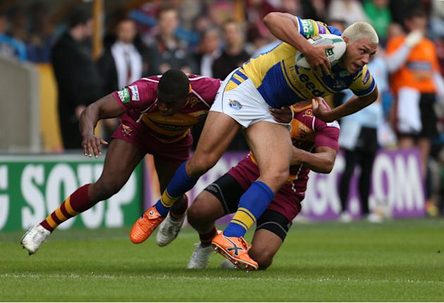 Rugby League - Super League - Huddersfield Giants v Leeds Rhinos - Galpharm Stadium