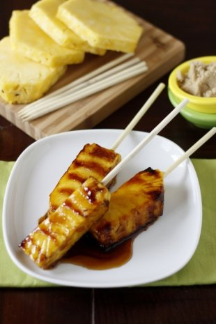 Grilled Pineapple Pops