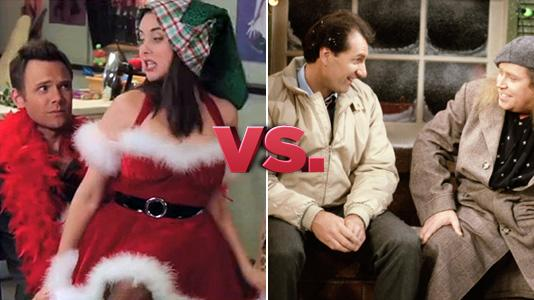 Mistletoe Madnes - Community vs. Married... With Children