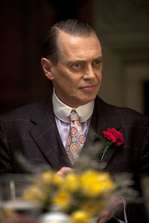 "Steve Buscemi stars as Enoch 'Nucky' Thompson in ""Boardwalk Empire."""