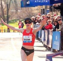 U.S. Olympian Deena Kastor Sets New Event Record At 10th Anniversary More Magazine/Fitness Magazine Women's Half-Marathon On April 14