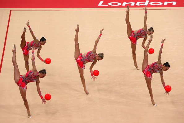 Olympics Day 16 - Gymnastics - Rhythmic