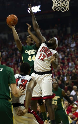 No. 11 UNLV beats Colorado State 82-63