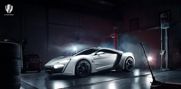 The first supercar from the Middle East