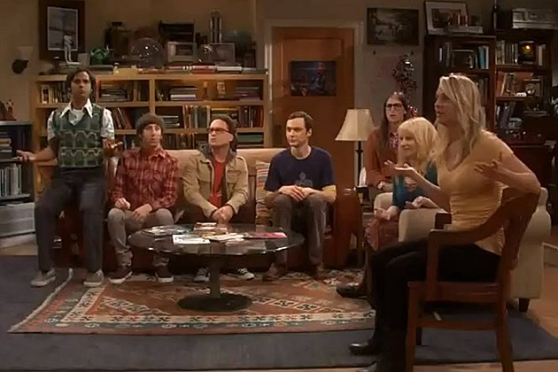 """The Big Bang Theory""-Flashmob: Wer überrascht hier wen? (Bild: Screenshot Dailymotion)"