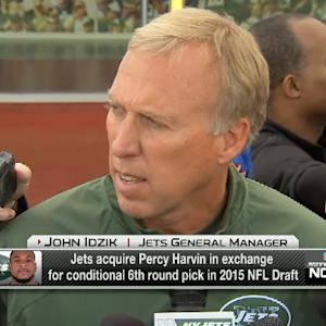 New York Jets general manager John Idzik: We did our due diligence on Percy Harvin