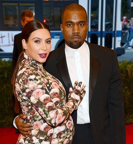 "Kim Kardashian, Kanye West's Baby Name ""Definitely Does Not Start With a K"""