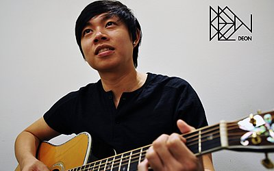 Deon Toh, one of the winners of Noise-Singapore's singer-songwriter programme. (Photo/ Deon Toh)